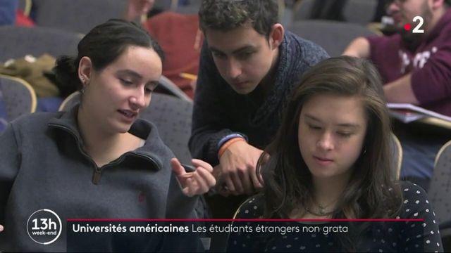 Universités américaines : les étudiants étrangers non grata