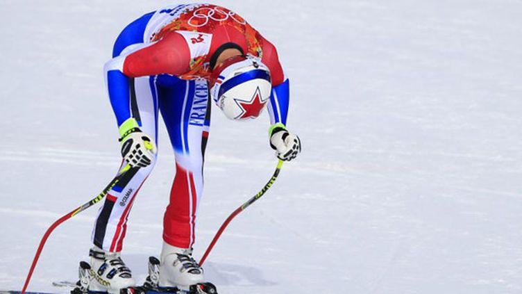 Le skieur français Adrien Theaux