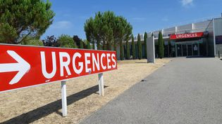 Le centre hospitalier de Valence (Drôme). (FLORENCE GOTSCHAUX / FRANCE-BLEU DRÔME-ARDÈCHE)