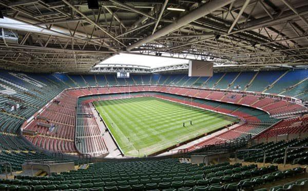 Le Millennium Stadium de Cardiff.
