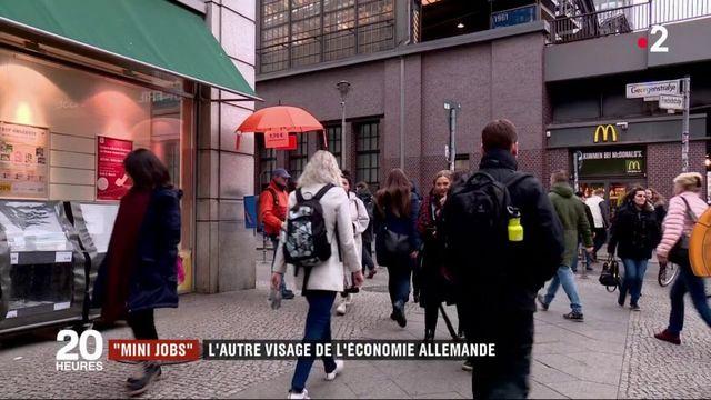 """""""Mini jobs"""" : l'autre visage de l'économie allemande"""