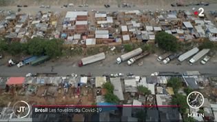 Une nouvelle favelas à Sao Paulo (France 2)