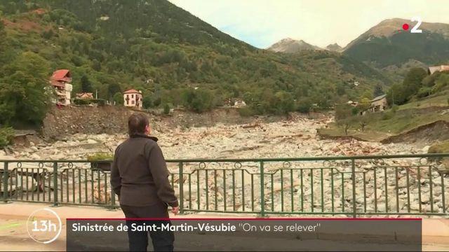 """Tempête Alex : """"C'est la rage qui vous monte au corps"""", témoigne une sinistrée de Saint-Martin-Vésubie"""