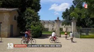 L'Entre-deux-Mers est une région naturelle située au sud-est de Bordeaux (Gironde), où se mêlent paysages uniques et patrimoine historique exceptionnel. Malgré cela, les touristes sont encore peu nombreux à s'y rendre. (FRANCE 2)