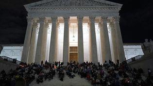 La Cour suprême des Etats-Unis, à Washington (USA). (ALEX EDELMAN / AFP)