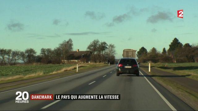 Vitesse maximale autorisée : la France la rabaisse, le Danemark la rehausse