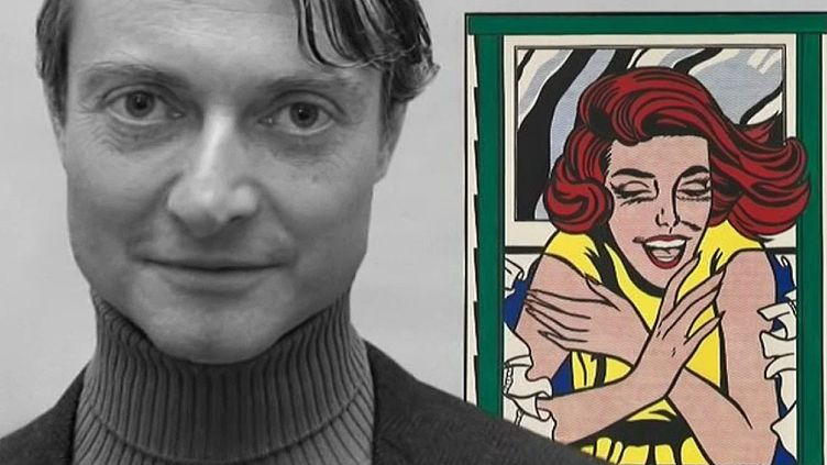 Roy Lichtenstein  (capture d'écran Culturebox)
