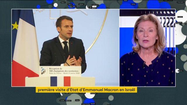 Première visite d'Emmanuel Macron en Israël