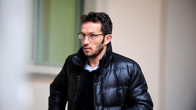 Ghislain Anselmini, ancien footballeur, a été condamné à cinq ans de prison pour l'enlèvement de son ancien coéquipier Fabrice Fiorèse.  (JEAN-PIERRE CLATOT / AFP)
