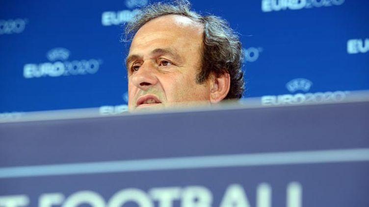 (La candidature de Michel Platini devrait être examinée à l'issue de sa suspension © MAXPPP)