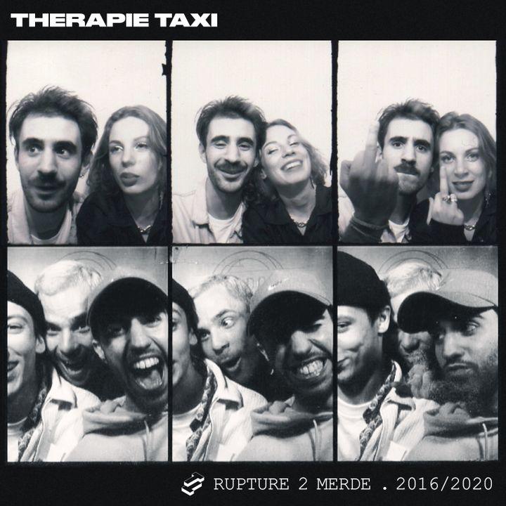 """Pochette du dernier EP du groupe Therapie Taxi, """"Rupture 2 Merde"""", sorti le 8 janvier 2021 en ligne. (PANENKAMUSIC)"""