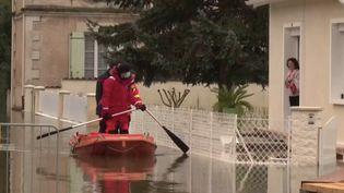 Inondations en Charente (FRANCE 3)