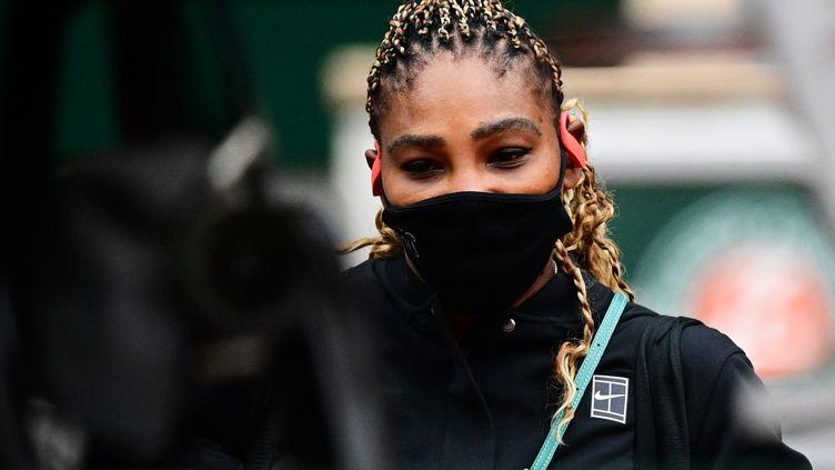 L'Américaine Serena Williams à Roland-Garros en 2020 (MARTIN BUREAU / AFP)