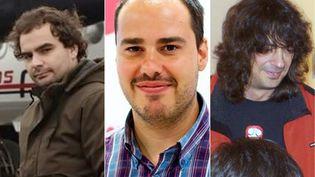 Les journalistes espagnolsAntonio Pampliega, Jose Manuel Lopez et Angel Sastre, otages depuis juillet 2015, ont été libérés, a annoncé Madrid, samedi 7 mai 2016. (DIARIO DE LEON / AFP)