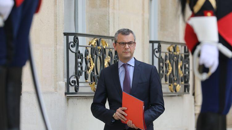 Le secrétaire général de l'Élysée, Alexis Kohler, le 5 juin 2018 à l'Elysée. (LUDOVIC MARIN / AFP)