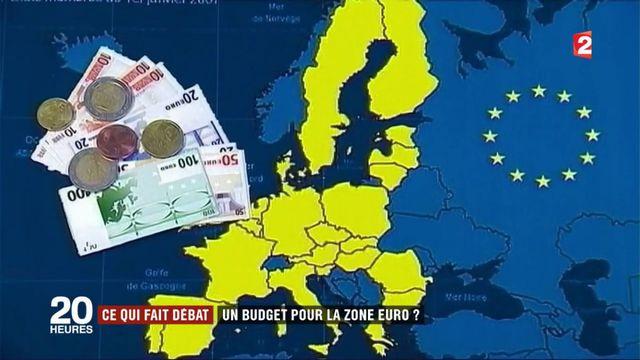 Ce qui fait débat : un budget pour la zone euro ?