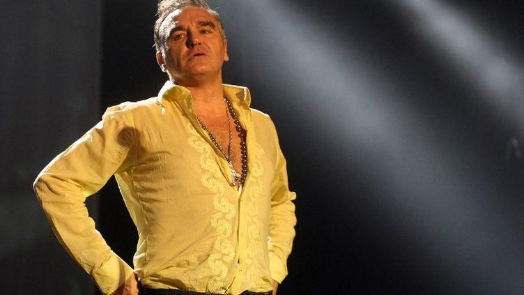 Morrissey en concert à Sao Paulo le 11 mars 2012  (JF DIORIO / WWW.GRUPOESTADO.COM.BR / Agência Estado)