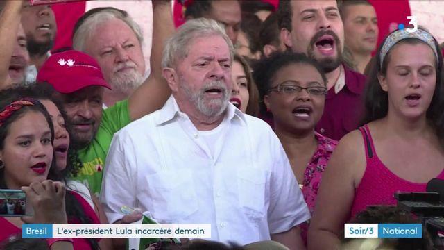 Brésil : l'ex-président Lula va être incarcéré