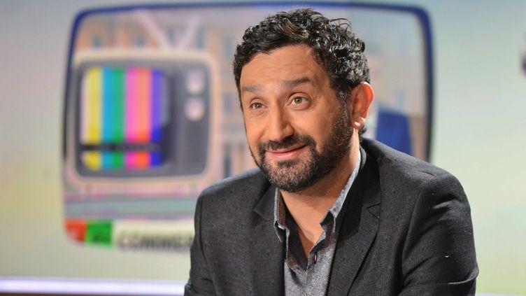 L'animateur Cyril Hanouna, le 30 avril 2015 sur LCI. (IBO / SIPA)
