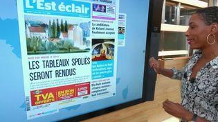 Médecins débordés, Saint-Jacques et tableaux spoliés :revue de presse en régions (France 2)