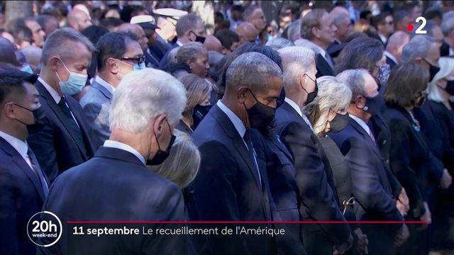 Attentats du 11-Septembre : des millions d'Américains rendent hommage aux 2977 victimes