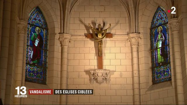 Vandalisme : plusieurs églises visées par des profanations