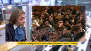 Cédric Villani, mathématicien et député LREM de l'Essonne(5ecirconscription). (FRANCEINFO)