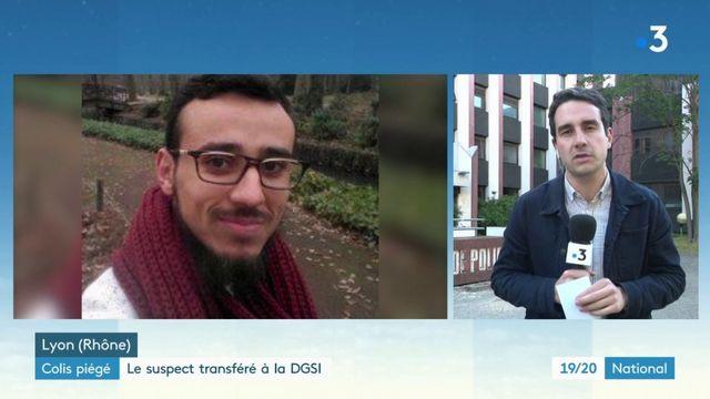 Colis piégé à Lyon : le suspect transféré à la DGSI