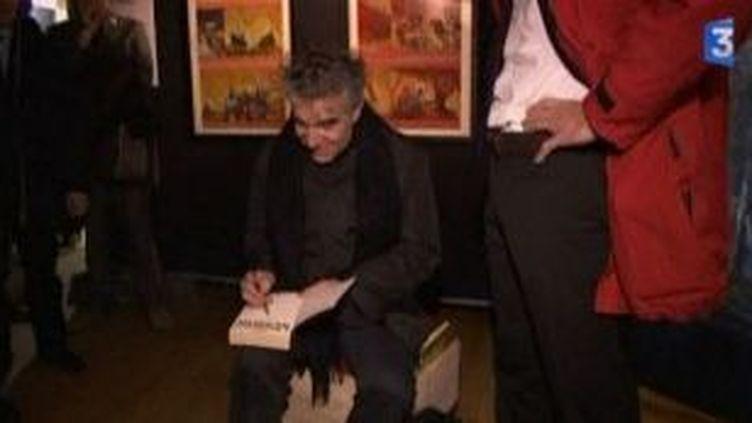 Baru, le président engagé et rock'n'roll d'Angoulême 2011  (Culturebox)