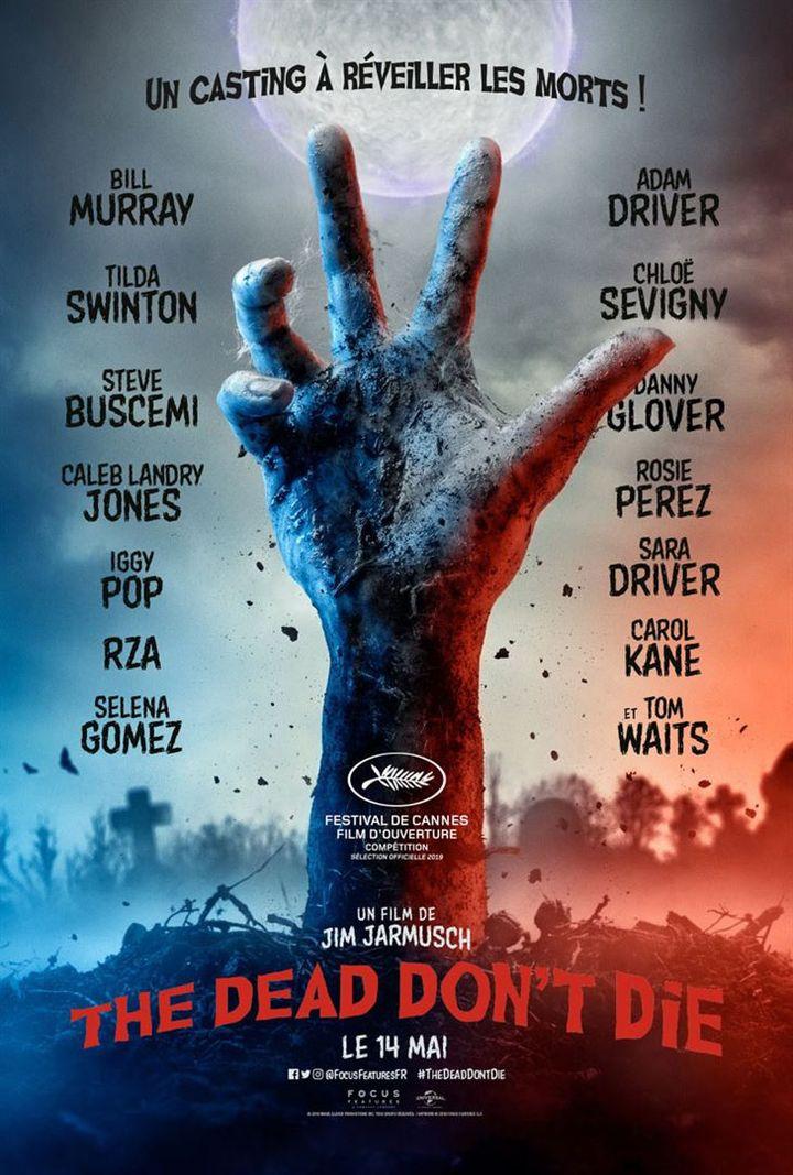 """""""The Dead Don't Die"""" : l'affiche du film de Jim Jarmusch (Universal Pictures International France)"""