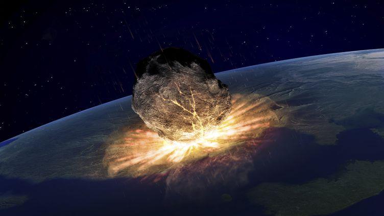 Une météorite percutant notre planète pourrait être la cause de la fin du monde. (AWO)
