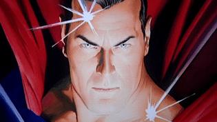 Superman vu par le dessinateur Alex Ross  (France 3 Culturebox (capture vidéo))