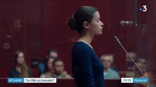 """Cinéma : """"La fille au bracelet"""", une adolescente dans le box des accusés"""