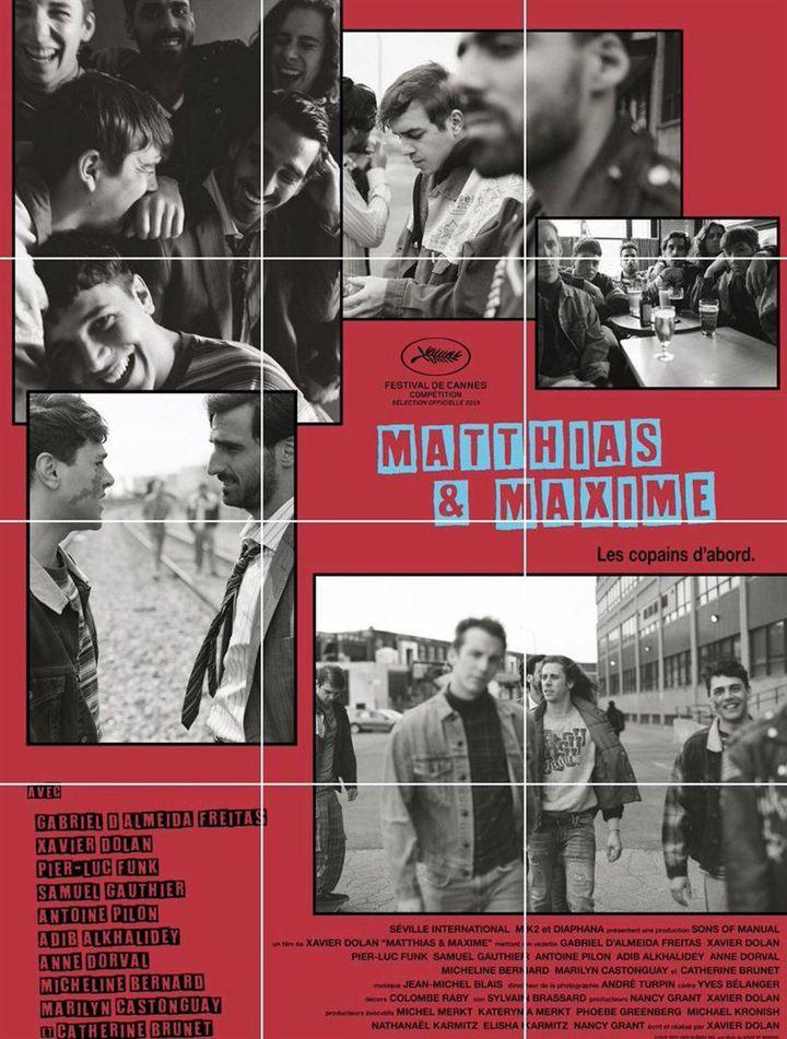 L'affiche de Matthias et Maxime de Xavier Dolan (Diaphana Distribution)
