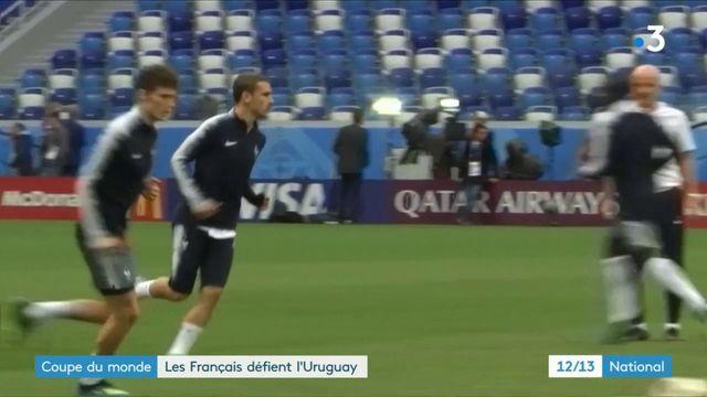 Coupe du Monde : les supporteurs français en Russie défient aussi l'Uruguay