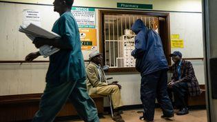L'hôpital Parirenyatwa dans la capitale Harare est sous-équipé comee tous ceux du pays (9 septembre 2019). (JEKESAI NJIKIZANA / AFP)