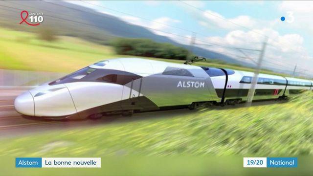 Alstom : en sauveur, l'État commande 100 TGV du futur