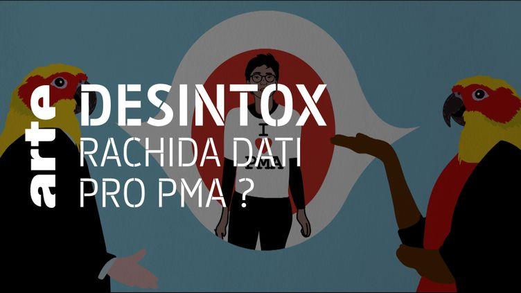 Non, Rachida Dati n'a pas porté la PMA pour toutes au Parlement européen (ARTE/2P2L)