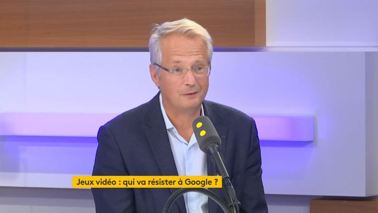 Jérôme Arnaud, président de Shadow, invité de franceinfo le 30 octobre 2019. (FRANCEINFO / RADIOFRANCE)