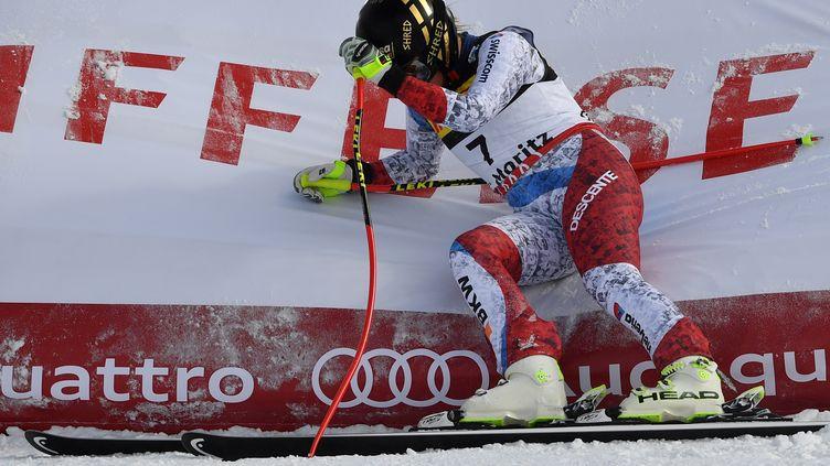 La skieuse suisse Lara Gut (DIMITAR DILKOFF / AFP)