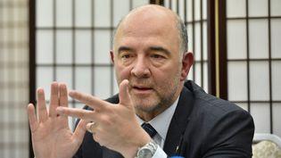Selon Pierre Moscovici, la négociation n'est pas arrivée au bout (KAZUHIRO NOGI / AFP)