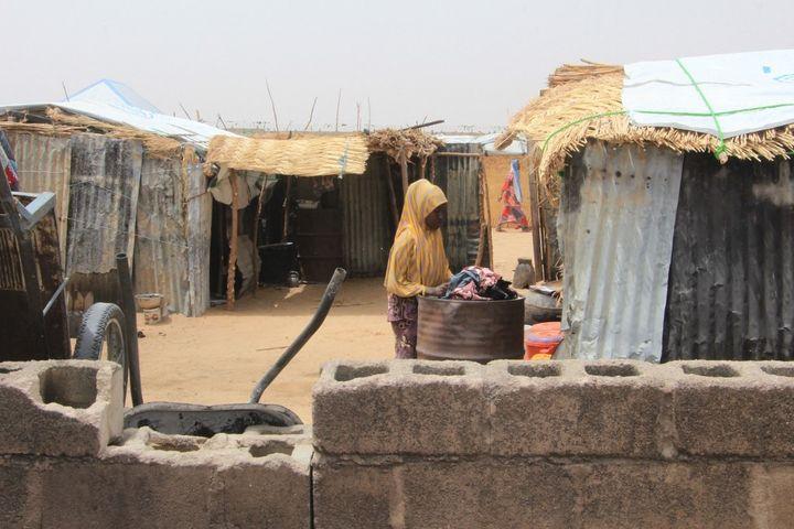 L'Etat du Borno abrite les trois-quarts des deux millions de personnes qui ont fui les violences dans la région du lac Tchad. Les tentatives de réinstallation, notamment à Baga ont échoué, car les groupes armés y sont toujours présents. (AUDU MARTE / AFP)