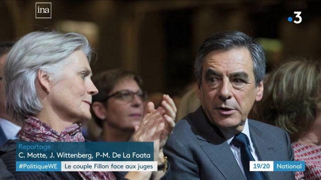 Politique : le couple Fillon face aux juges
