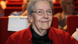 Josette Audin, veuve du militant communiste torturé et tué en Algérie, le 21 juin 2007 à Paris. (THOMAS COEX / AFP)