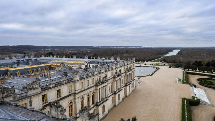 Le château de Versailles, toujours confiné (10 décembre 2020) (ALAIN JOCARD / AFP)