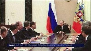 Vladimir Poutine, le président russe. (FRANCE 3)