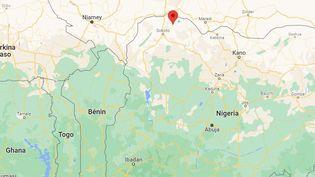 La village de Goronyo, au Nigeria. (GOOGLE MAPS)