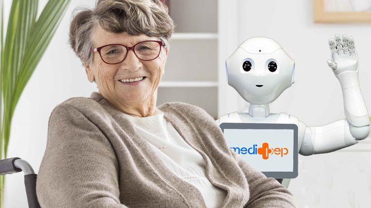 Un robot capable de s'adapter de façon personnalisé et automatique à chaque personne. (MEDIPEP.EU)