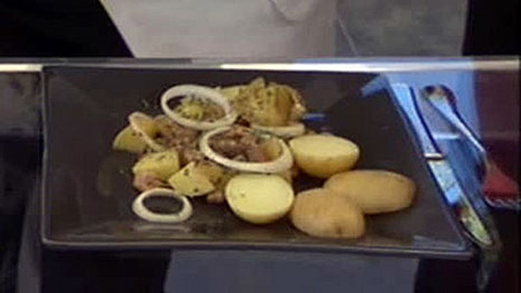 Salade tiède de Bonnottes de Noirmoutier