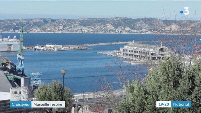 Marseille : sans les bateaux de croisière, un air plus pur mais moins de touristes